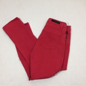 Women's Rock And Republic Red Jeans Pants 6